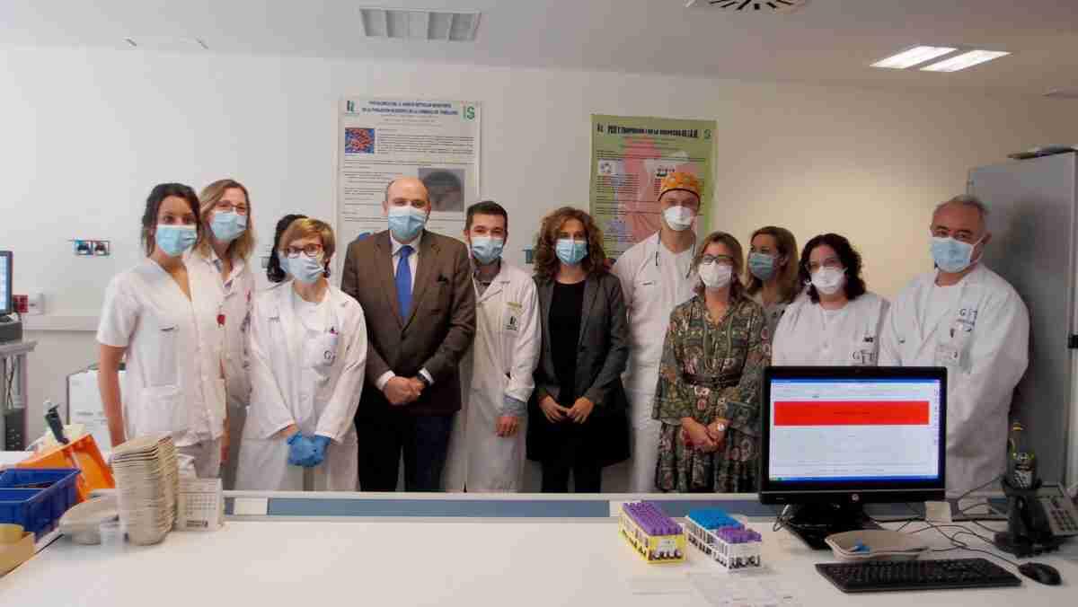 El Hospital de Tomelloso reforzó el área de Laboratorio con una dotación tecnológica para diagnosticar mejor el COVID-19 2