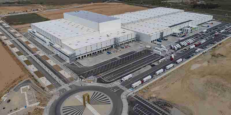 Montepino entregó la obra completa del nuevo Centro de Operaciones Logísticas de Luis Simões en Guadalajara 1