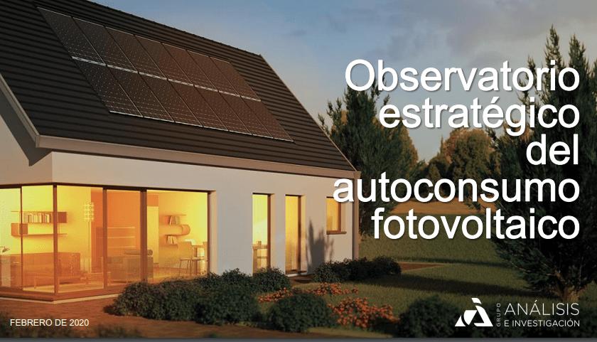 Las instalaciones de paneles fotovoltaicos se duplicaron en 2019 de acuerdo al II Observatorio del Autoconsumo Español 1