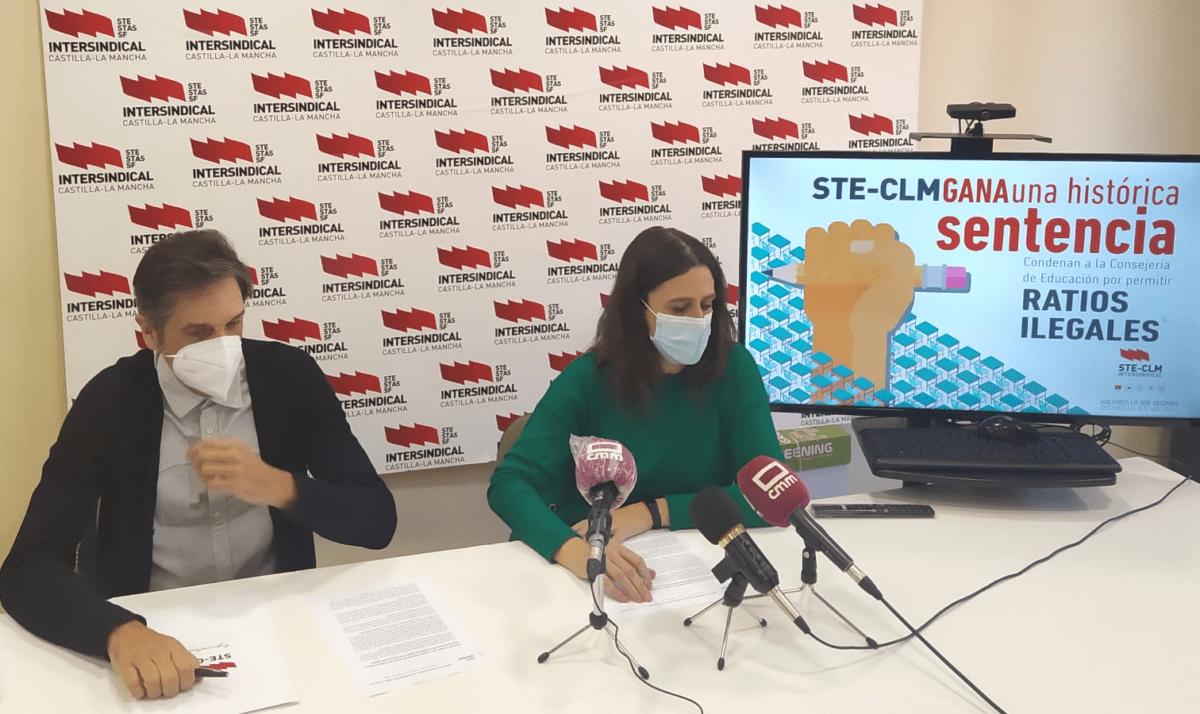Rueda de prensa: STE-CLM consiguió que el TSJCM dictamine que las ratios establecidas en centros educativos de Castilla-La Mancha desde 2016 han sido ilegales 1