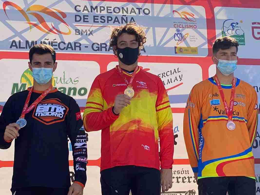 La selección de Castilla-La Mancha, subcampeona de España en el campeonato nacional de BMX Racing 2020 5