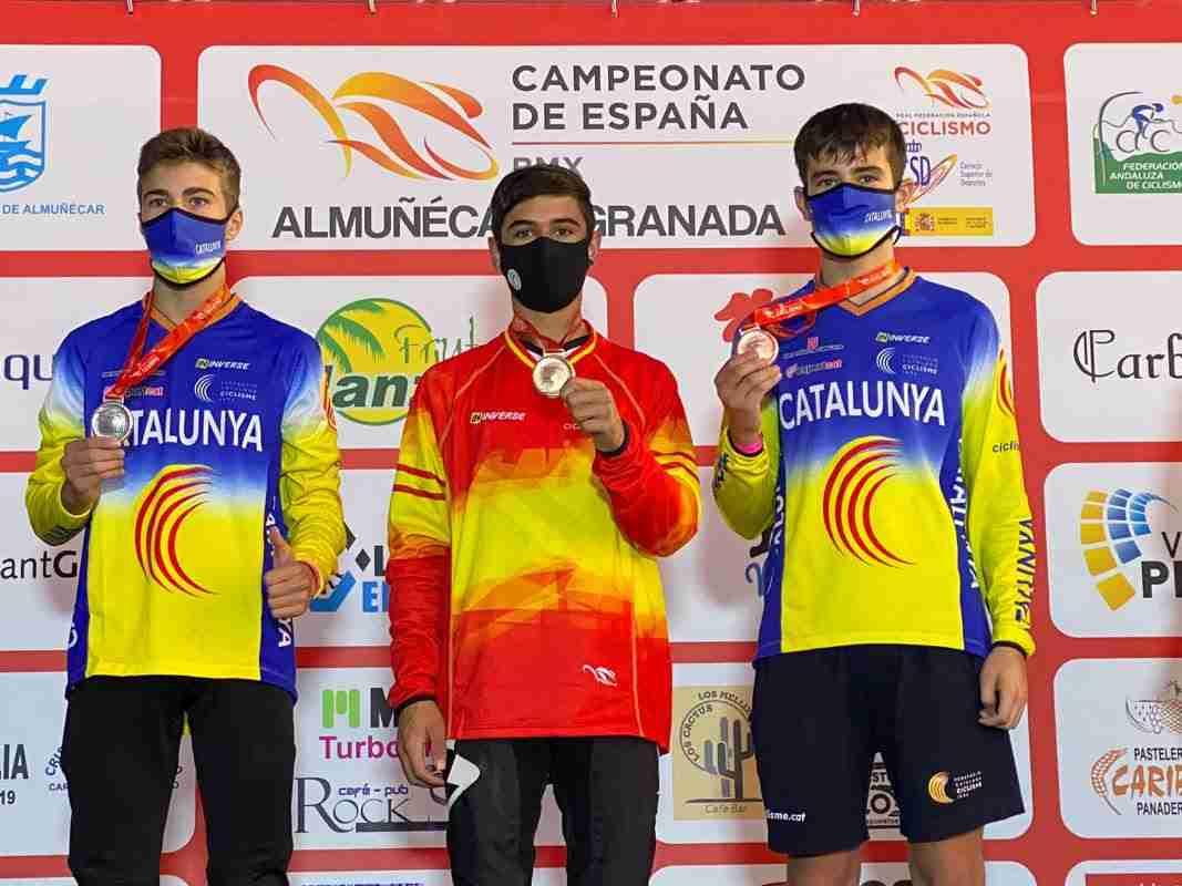 La selección de Castilla-La Mancha, subcampeona de España en el campeonato nacional de BMX Racing 2020 4