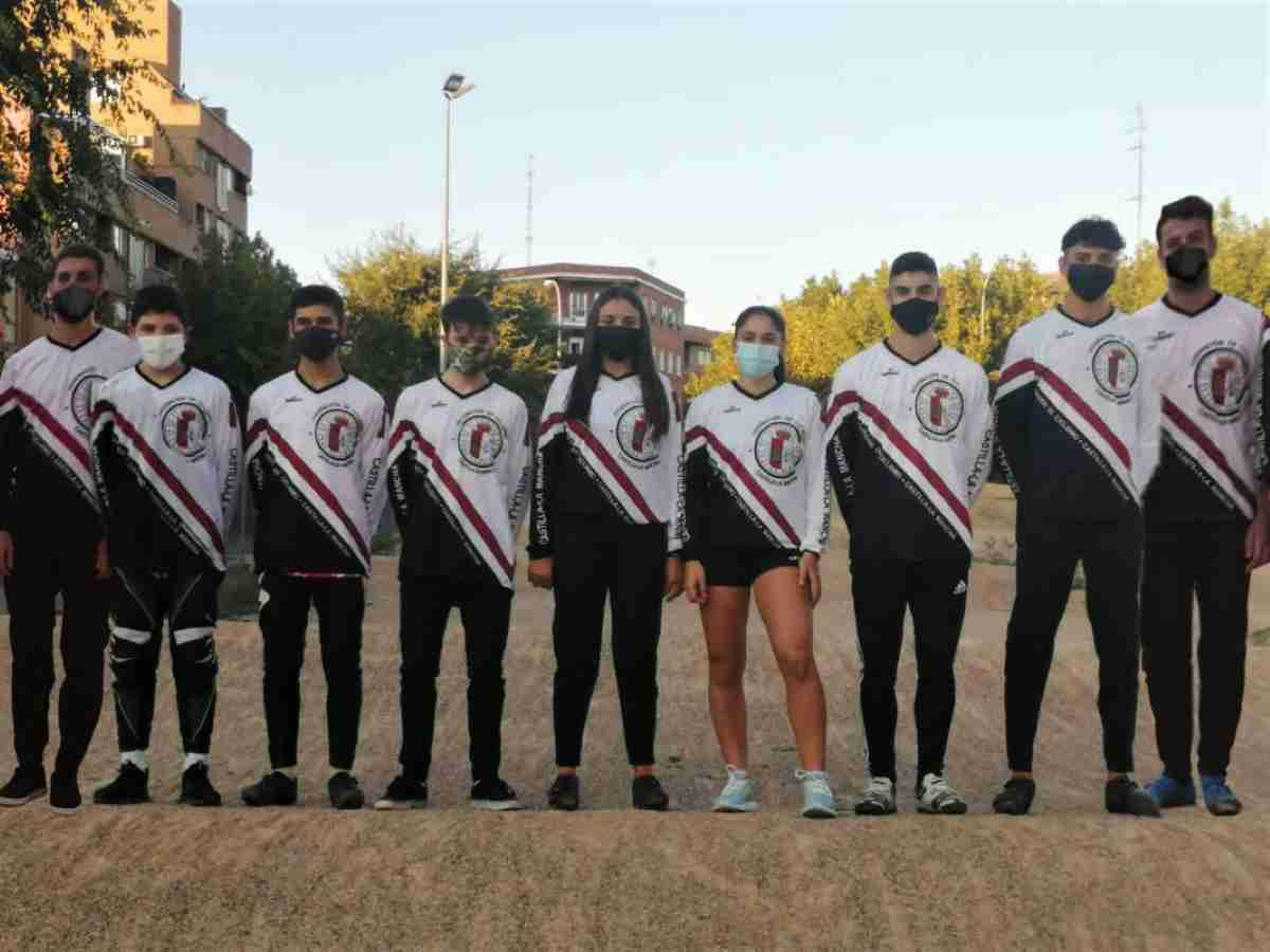 seleccion clm campeonato espana en granada bmx