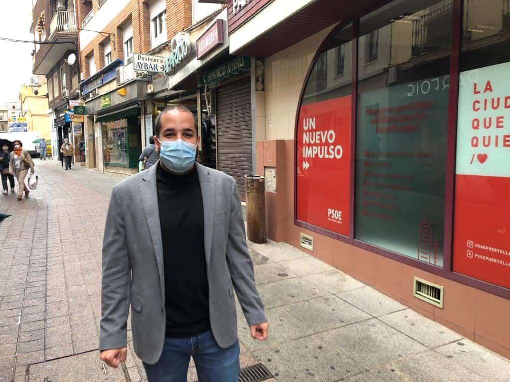 """Miguel González: """"Puertollano está en la agenda del Gobierno de Pedro Sánchez, lo demuestran los compromisos del Ministro de Transportes"""" 1"""