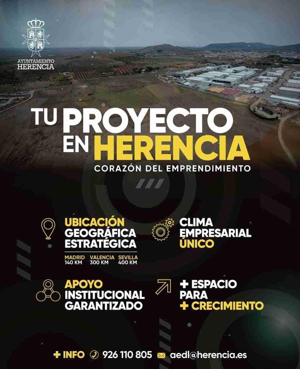 Herencia abre las licitaciones para la II ampliación de su Polígono Industrial 3