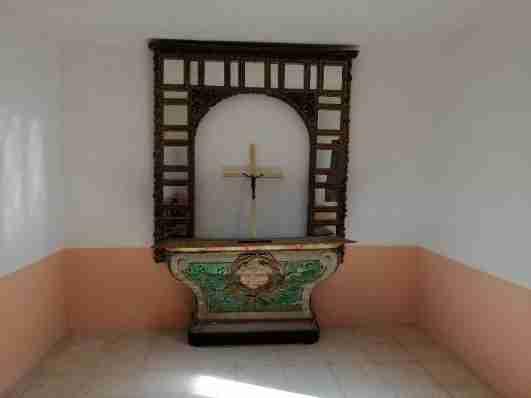 capilla cementerio Azucaica