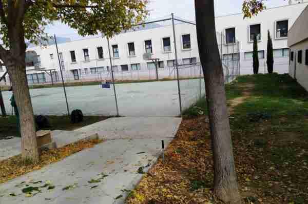 Calle Girasol colegio antes 1