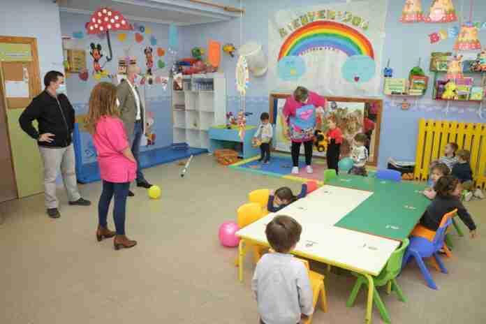alcalde visito escuela infantil municipal alba