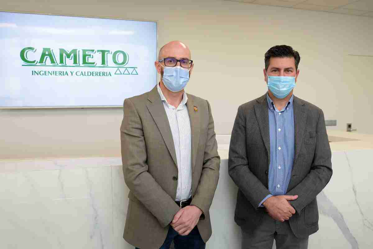 Ayuntamiento de Argamasilla de Alba y CAMETO S.L. rubricaron un convenio para colaborar en materia de empleo y desarrollo económico 1