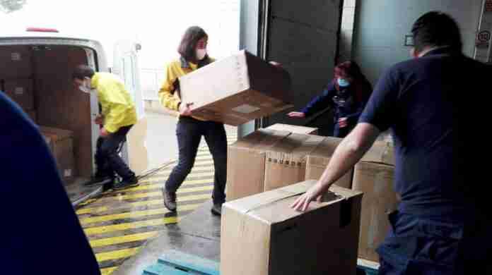 entrega material proteccion provincia ciudad real