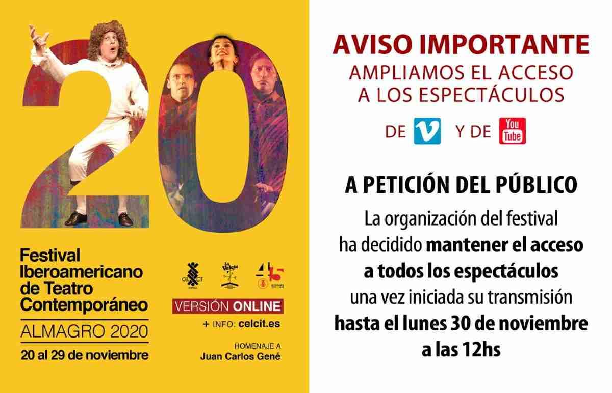 festival iberoamericano de teatro contemporaneo almagro