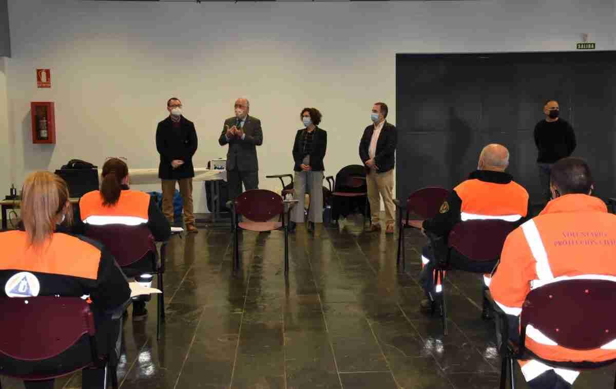 El Gobierno regional celebra en Miguelturra un curso básico de formación con 60 voluntarios de Protección Civil 1