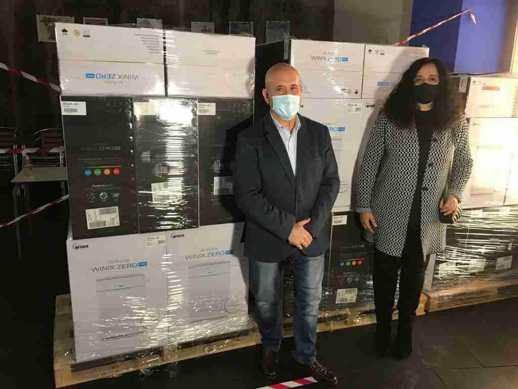 El Ayuntamiento de Villarrubia de los Ojos repartió 125 purificadores con filtros HEPA-13 entre centros educativos y sociosanitarios 2