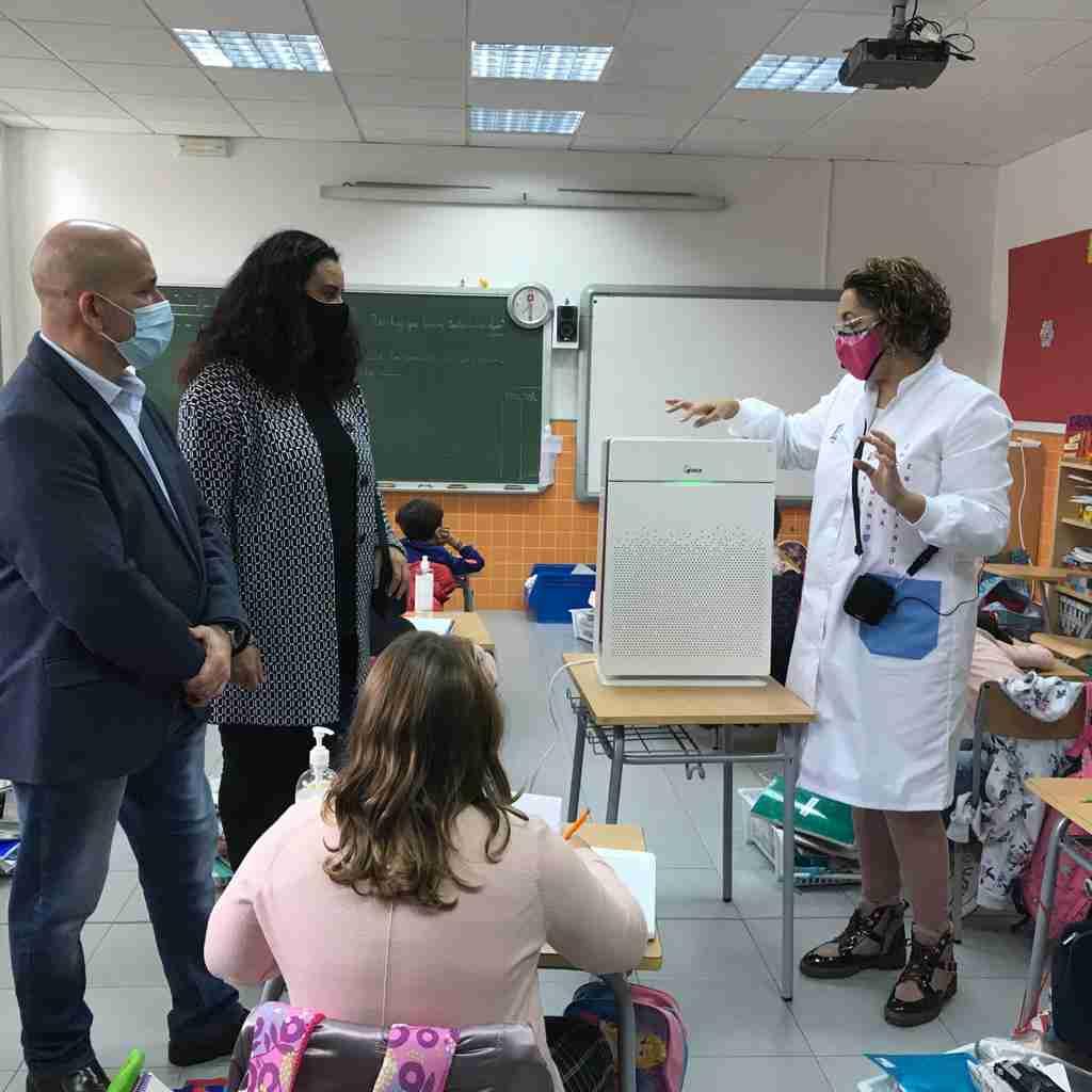 El Ayuntamiento de Villarrubia de los Ojos repartió 125 purificadores con filtros HEPA-13 entre centros educativos y sociosanitarios 1
