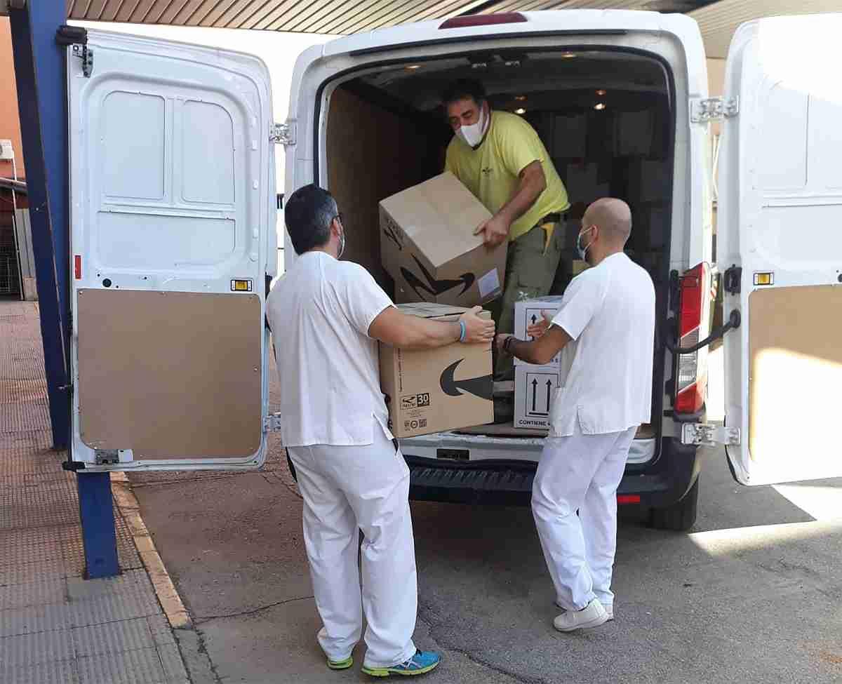 El Gobierno de Castilla-La Mancha reparte más de 247.000 artículos de protección frente al coronavirus en la provincia de Ciudad Real 3