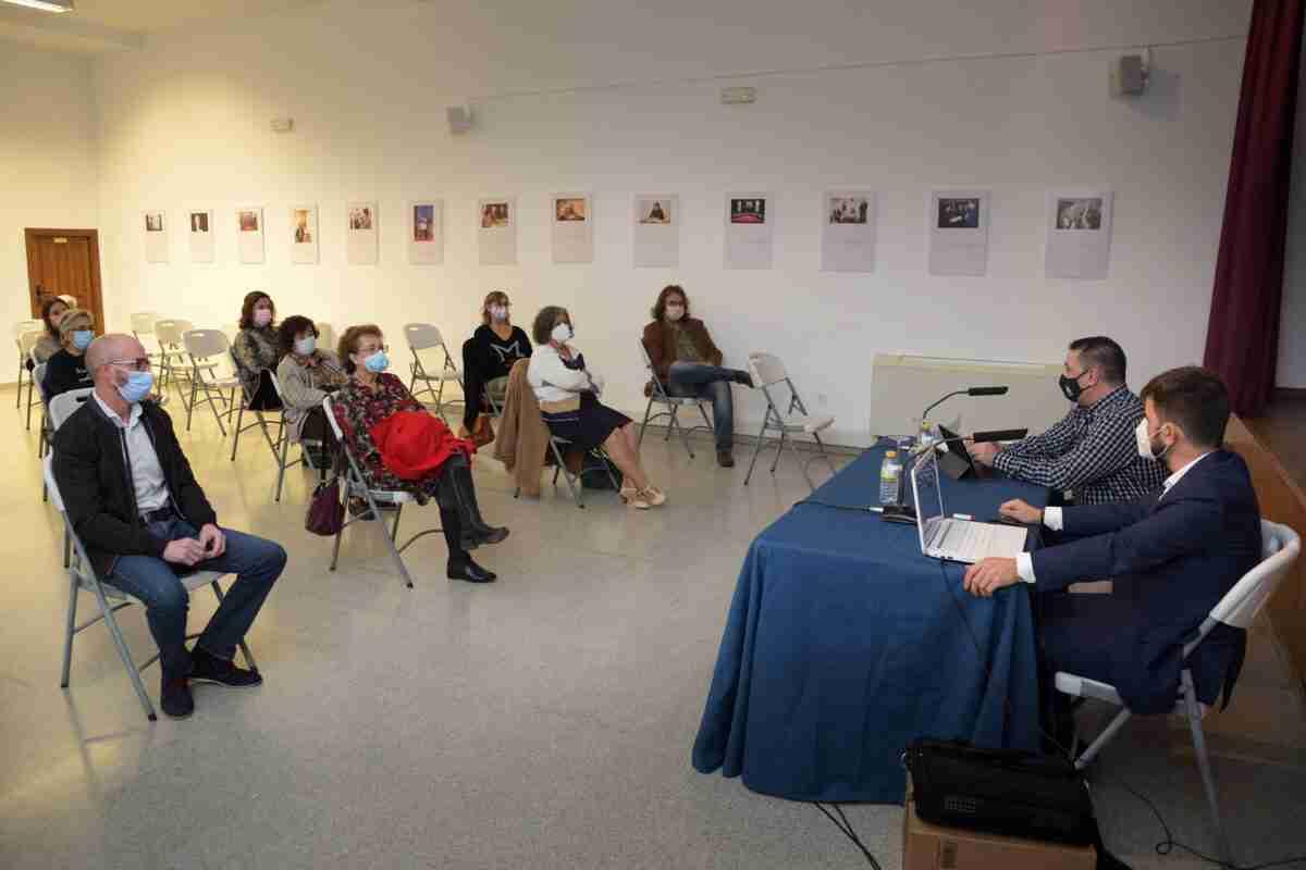 Miguel Zorita presentó su libro 'Secretos del Siglo de Oro' en Argamasilla de Alba 1