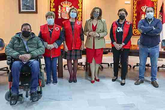 Cruz Roja palpa la solidaridad rabanera que llegará a las personas más desfavorecidas 1