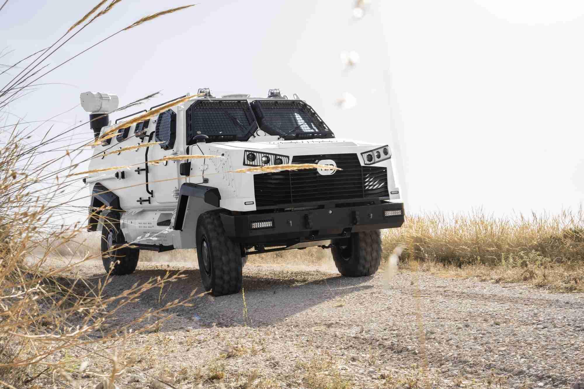 TSD presenta IBERO, un vehículo táctico multipropósito, con adaptabilidad y versatilidad 13