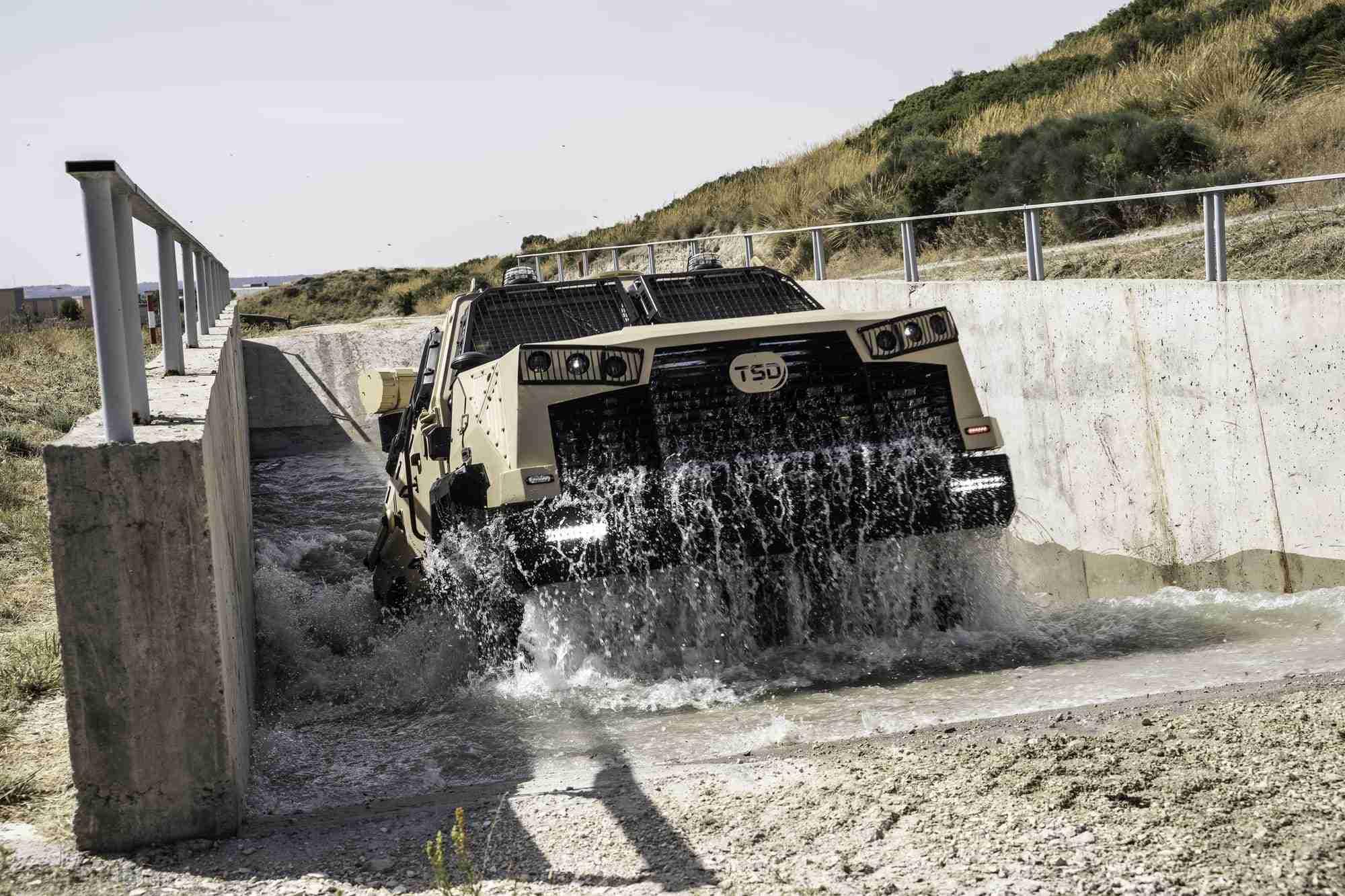 TSD presenta IBERO, un vehículo táctico multipropósito, con adaptabilidad y versatilidad 14