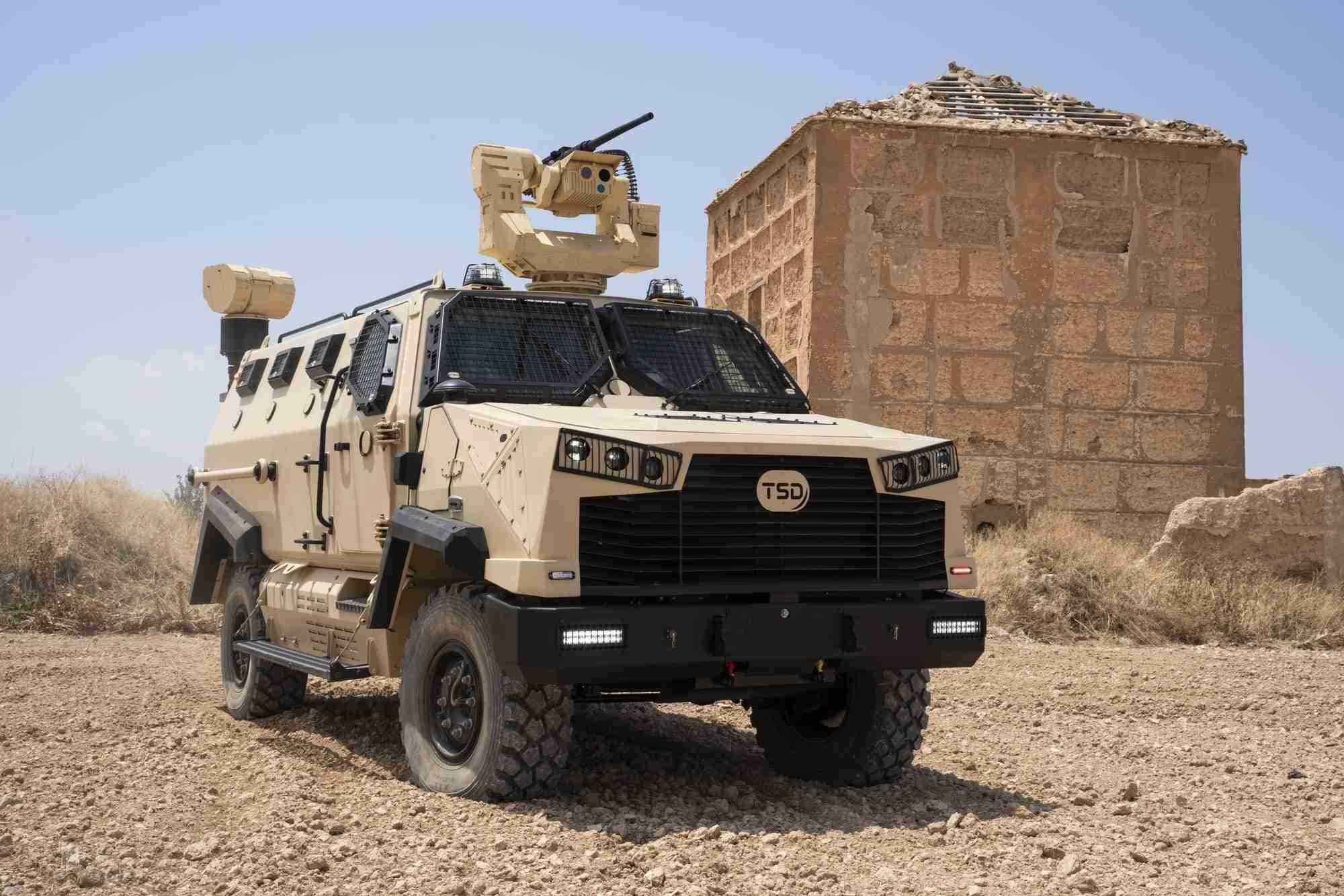 TSD presenta IBERO, un vehículo táctico multipropósito, con adaptabilidad y versatilidad 15