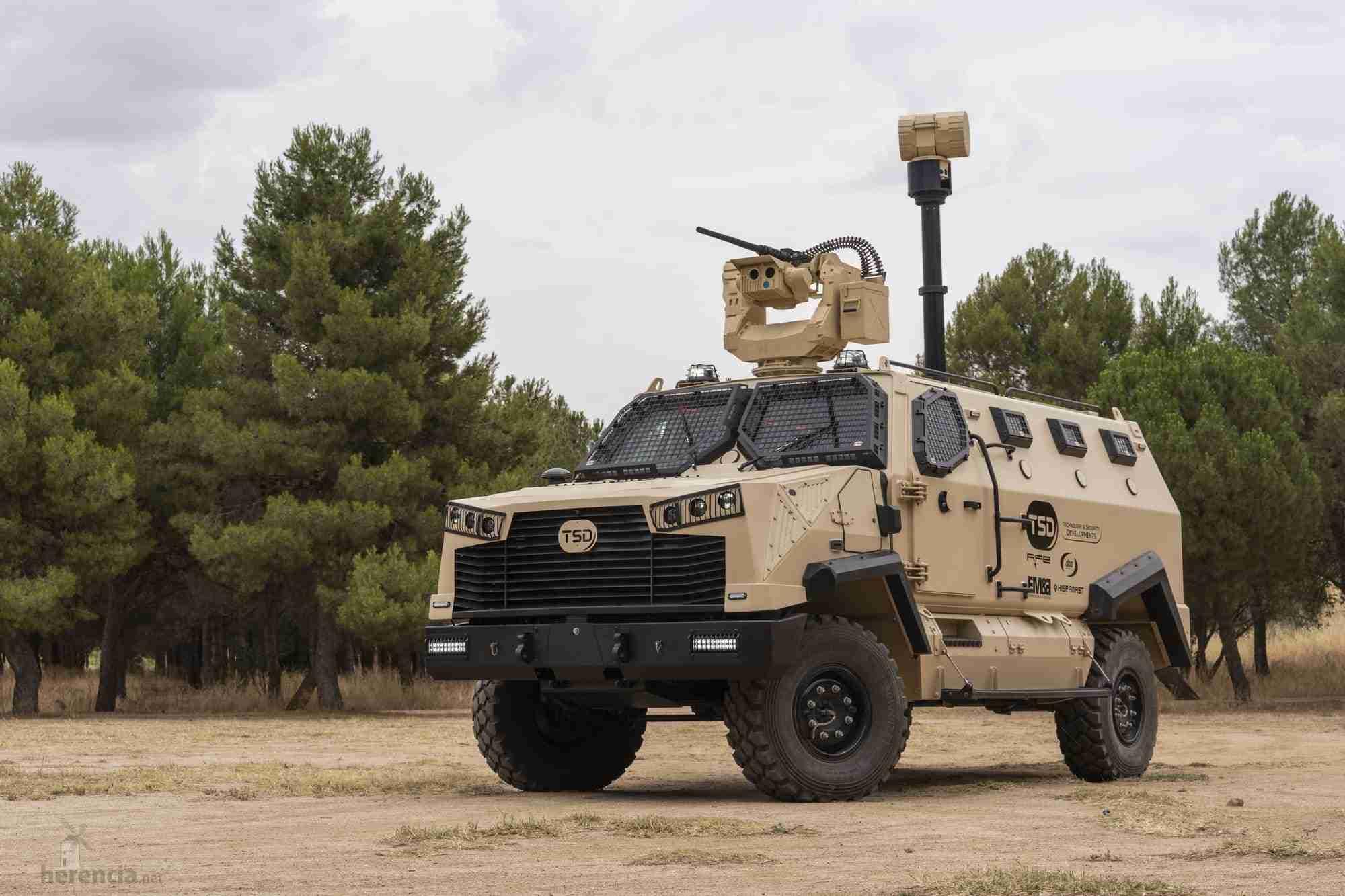 TSD presenta IBERO, un vehículo táctico multipropósito, con adaptabilidad y versatilidad 20