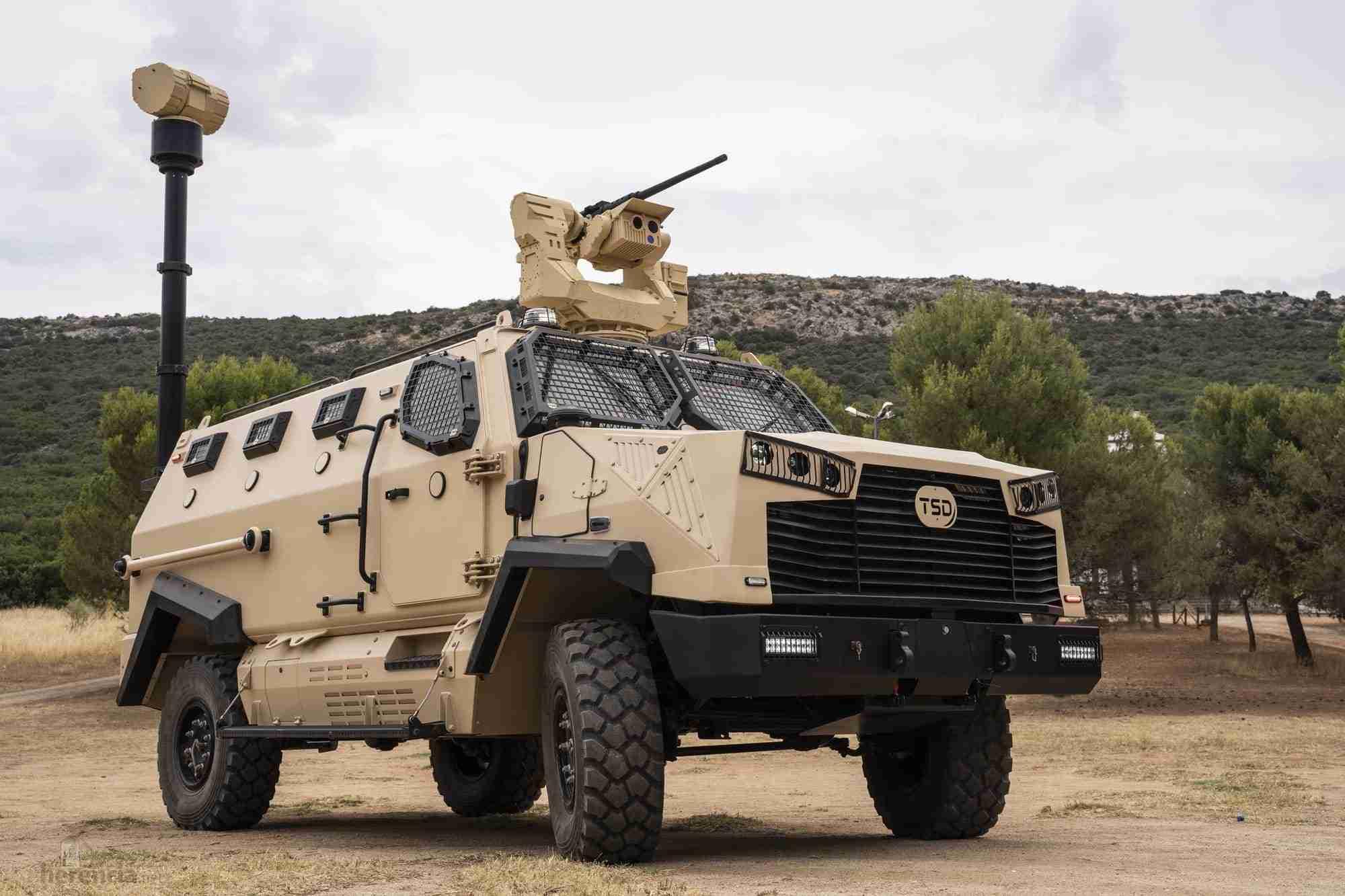 TSD presenta IBERO, un vehículo táctico multipropósito, con adaptabilidad y versatilidad 32