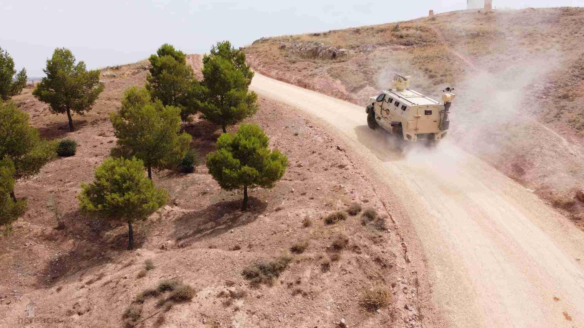 TSD presenta IBERO, un vehículo táctico multipropósito, con adaptabilidad y versatilidad 22