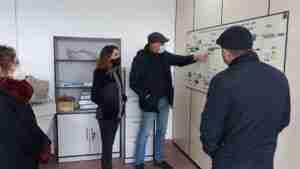 A buen ritmo, avanzan las obras de mejora de la EDAR en Villarta de San Juan 1