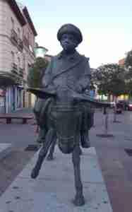 Sancho Panza reivindicado por la Sociedad Cervantina de Alcázar de San Juan 1