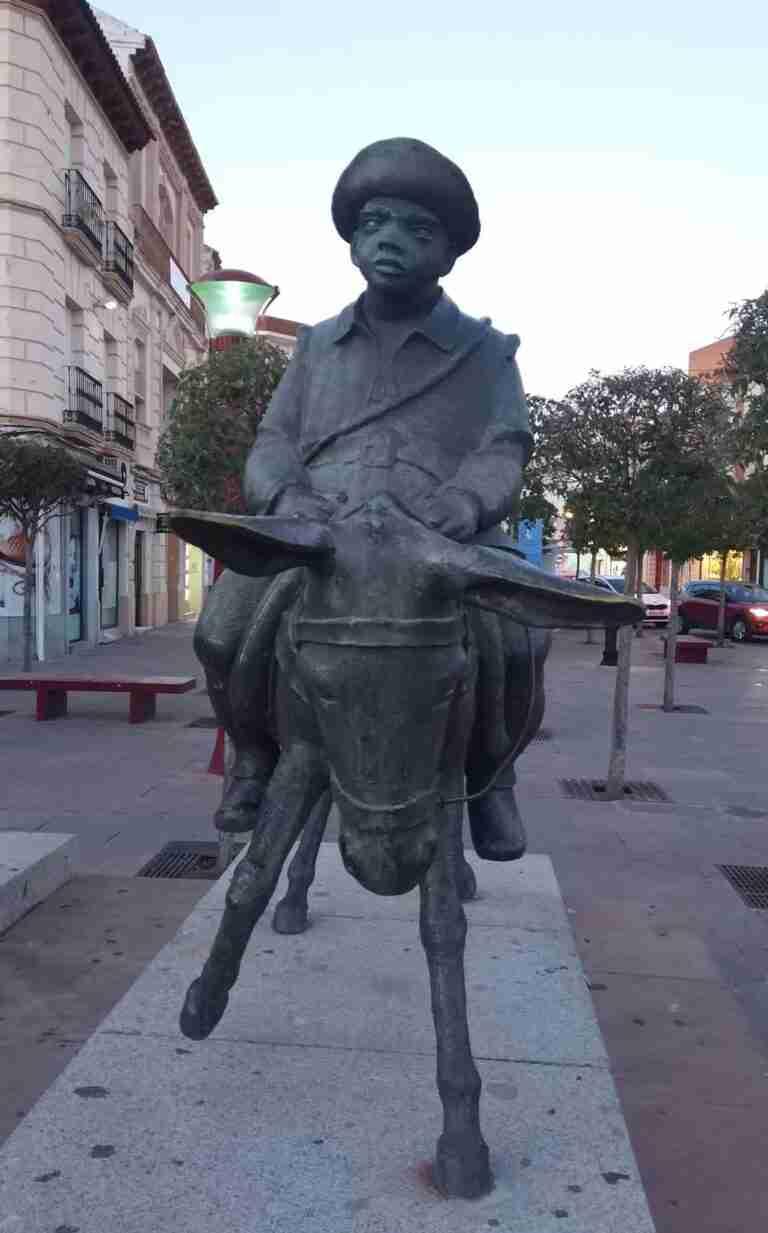 Sancho Panza reivindicado por la Sociedad Cervantina de Alcázar de San Juan
