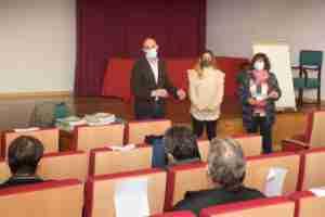 El alcalde de Argamasilla de Alba entregó diplomas a los alumnos del curso de PRL en el oficio de albañilería 1