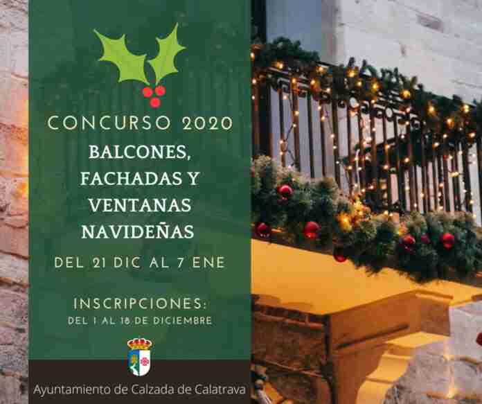 cartel concursos navidenos