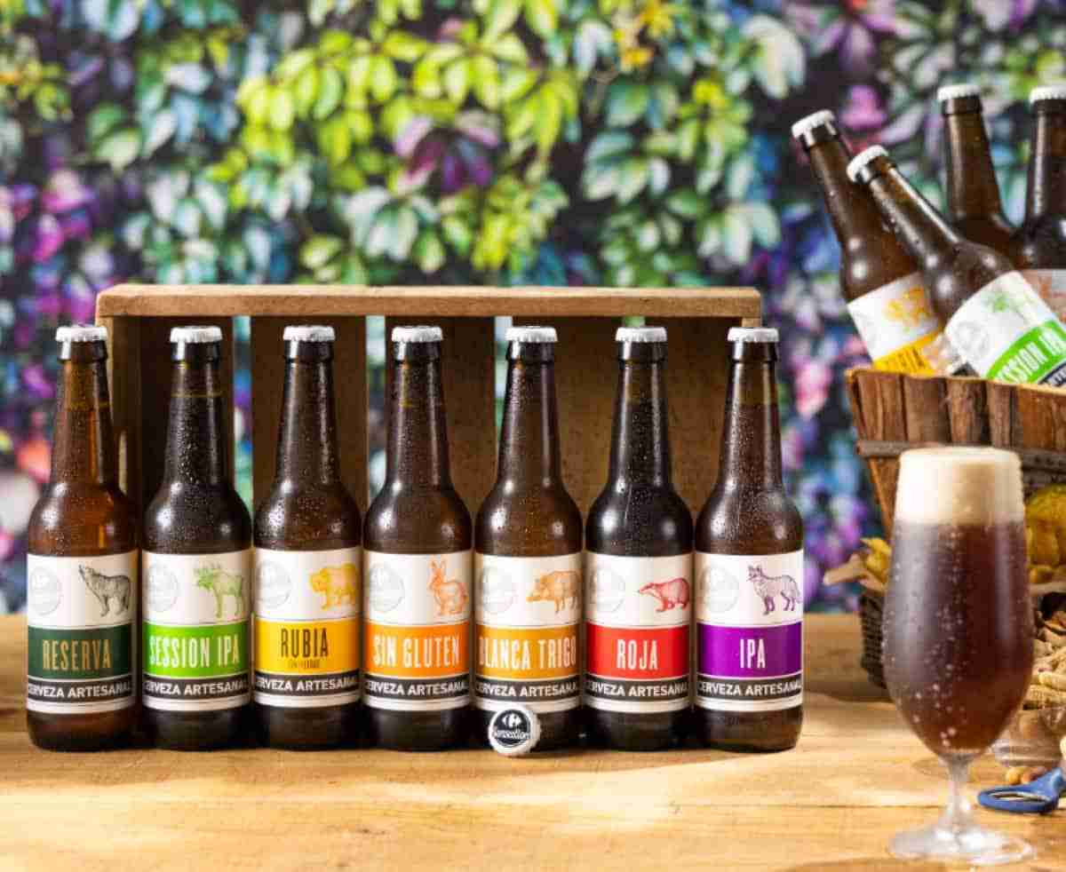 cervezas artesanales carrefour