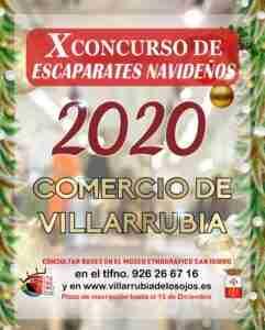 Convocatoria al 10º Concurso de Escaparates Navideños en Villarrubia de los Ojos 1