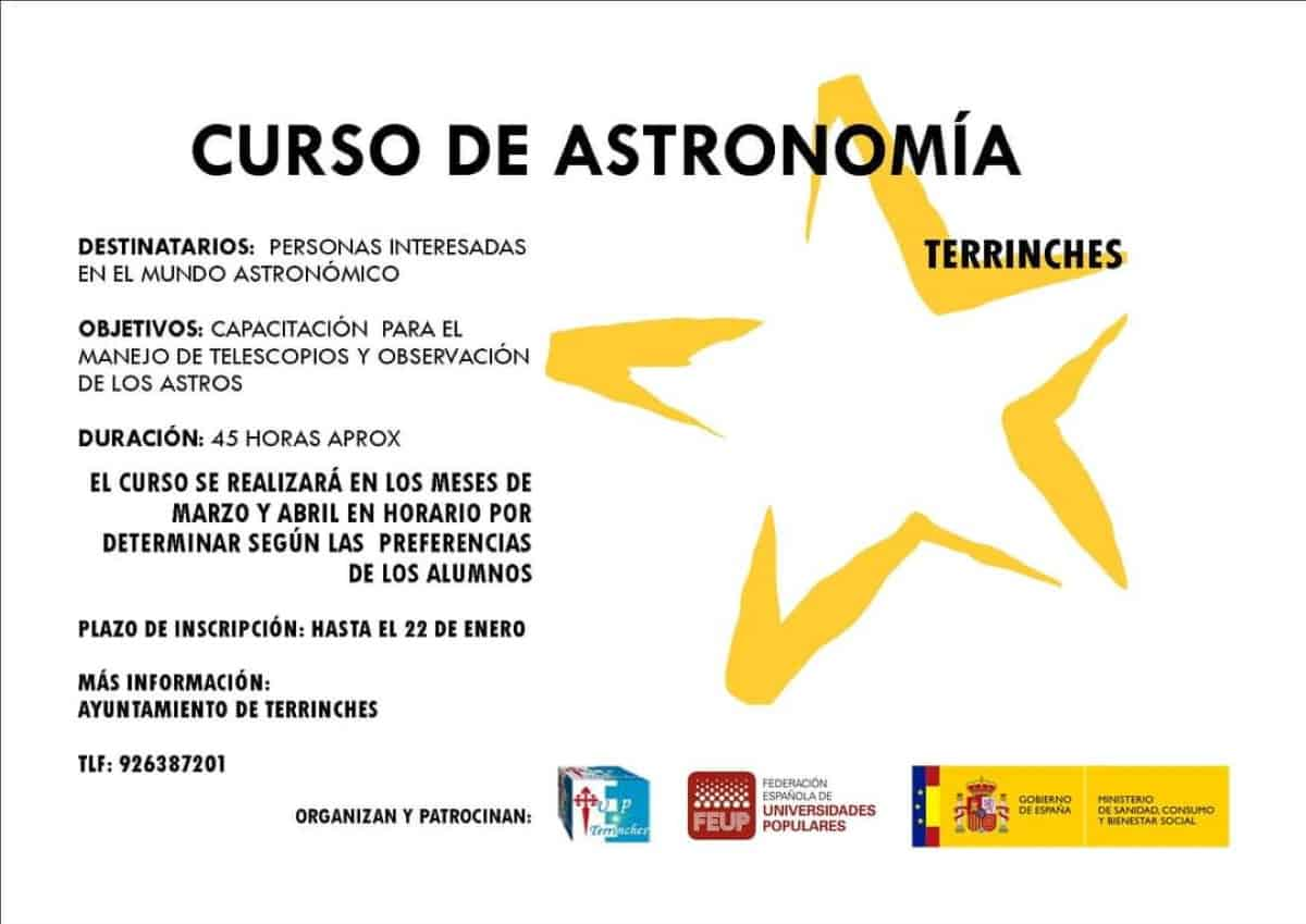 astronomia terrinches