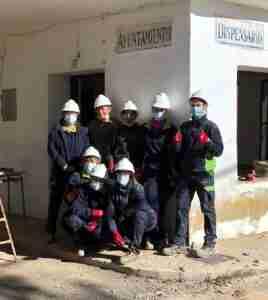 Ocho desempleados forman parte del nuevo programa de formación y empleo en Villalba de Calatrava, con promoción del Ayuntamiento de Viso del Marqués 2