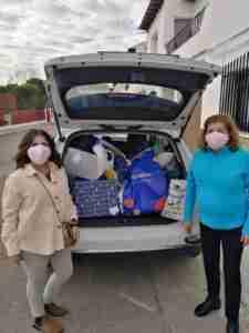 Supernenas hicieron llegar sus regalos a la planta de pediatría oncológica del Hospital de Toledo 1