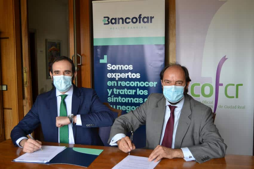 Bancofar y el Colegio Oficial de Farmacéuticos de Toledo unieron fuerzas con un nuevo convenio de colaboración 1