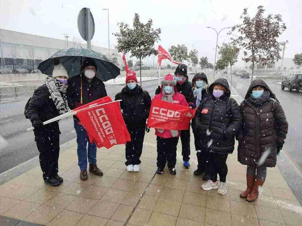 Movilizaciones en XPO-Marchamalo por los despidos injustificados de trabajadores indefinidos 3