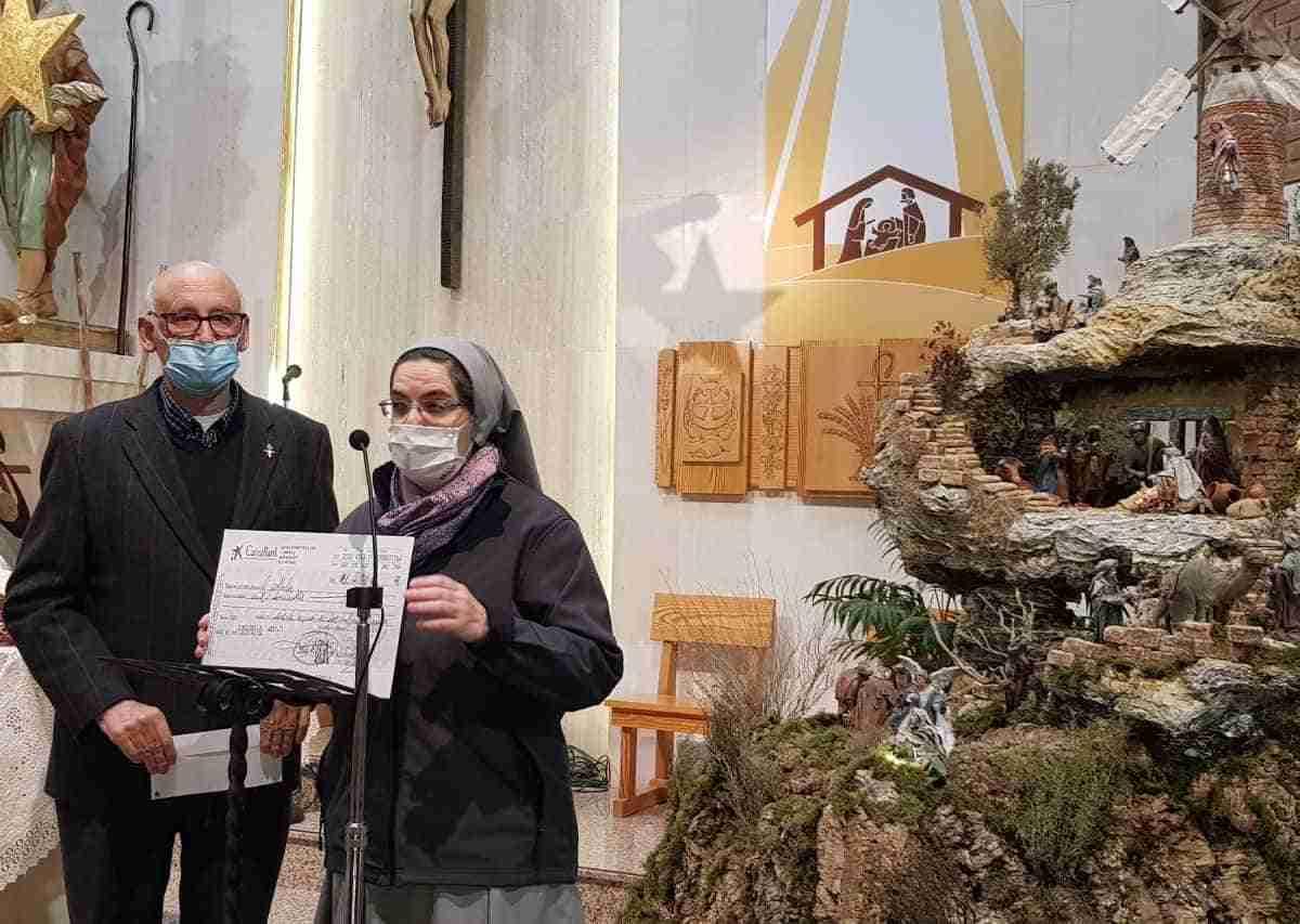 donacion de belenista el buen pastor al cotolengo