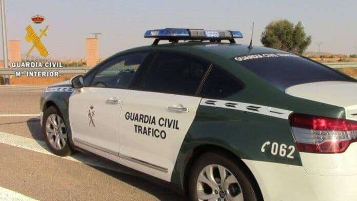 guardia civil investiga conductor