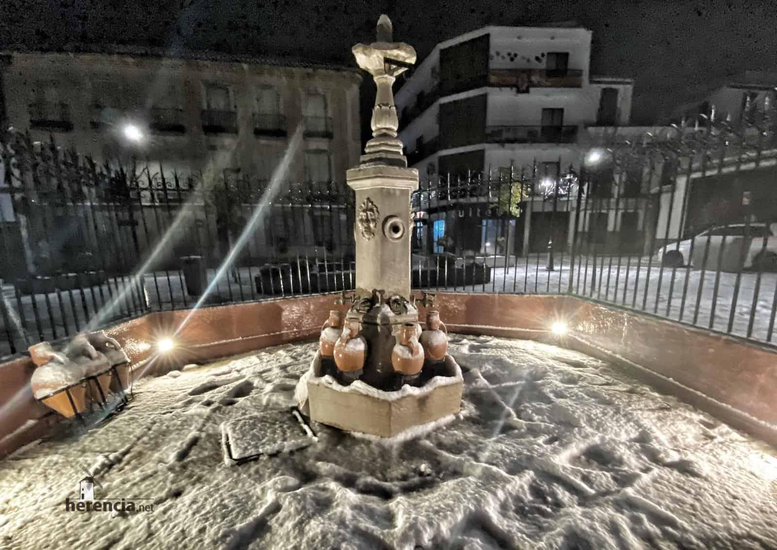 Fotografías de la nevada en Herencia (Ciudad Real) 49