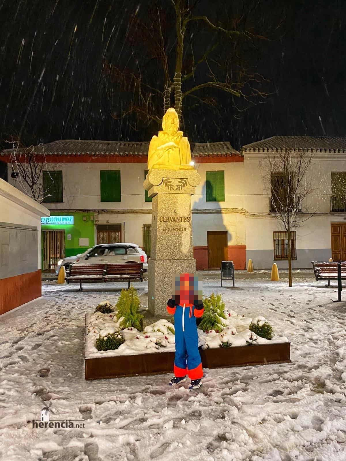 Fotografías de la nevada en Herencia (Ciudad Real) 50