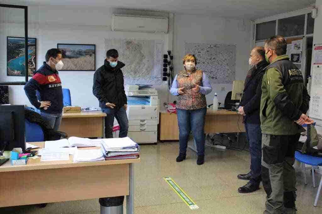 El Gobierno regional agradeció a efectivos de Fomento y Desarrollo Sostenible por su apoyo en el trabajo de limpieza de Ciudad Real 1