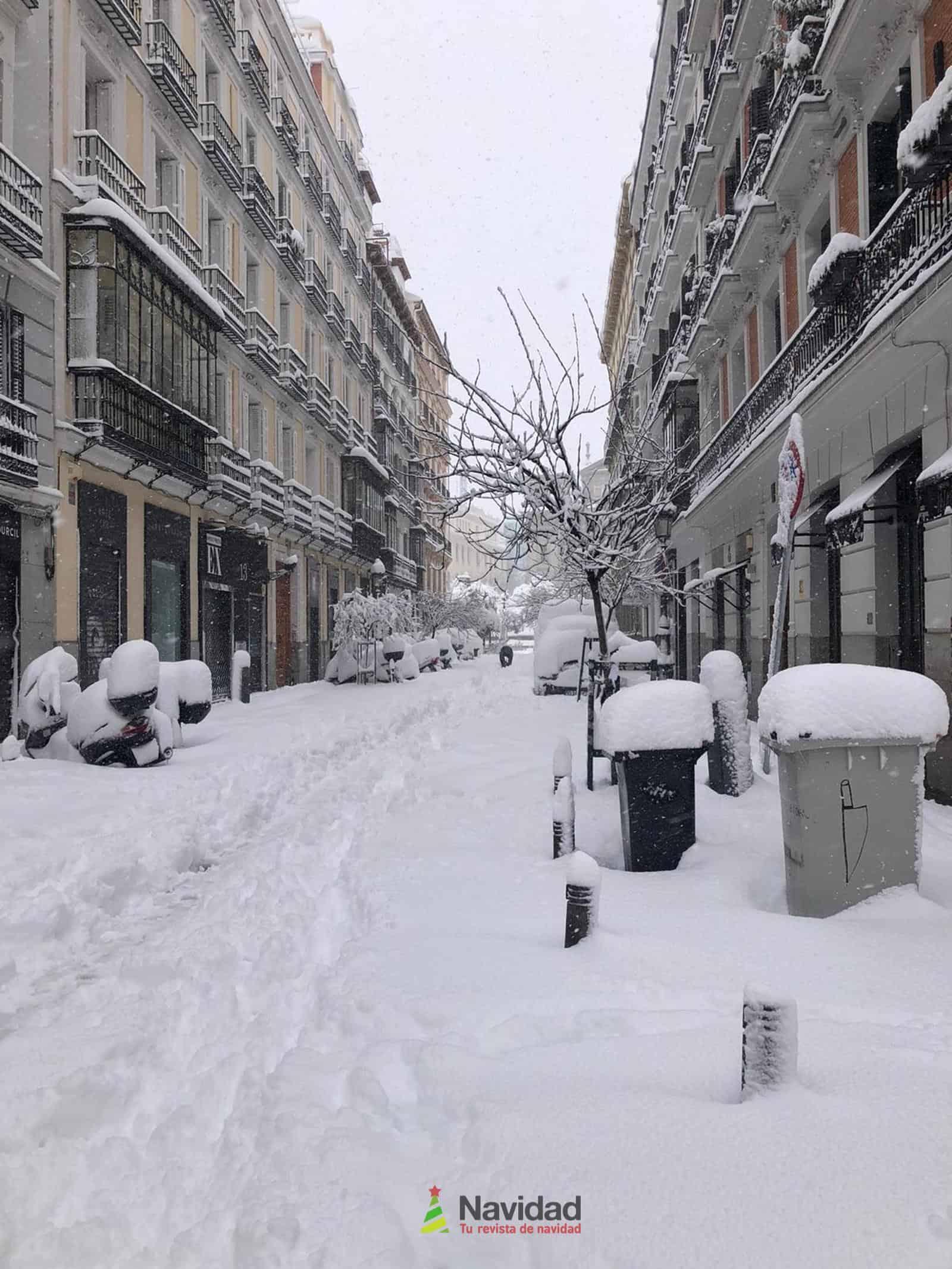 Fotografías de la nevada de enero en Madrid (España) 151