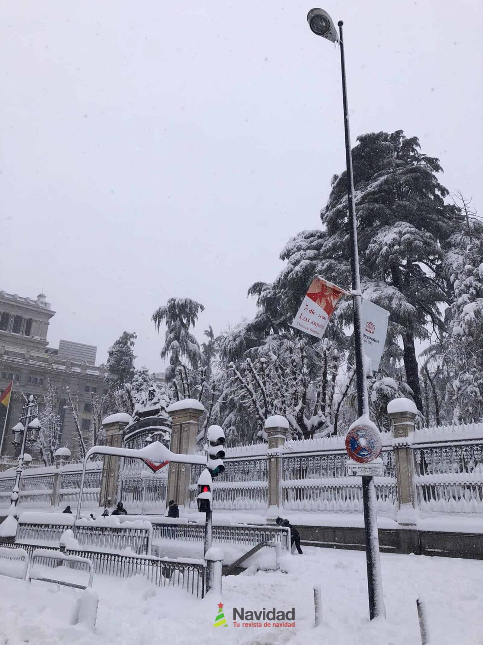 Fotografías de la nevada de enero en Madrid (España) 85