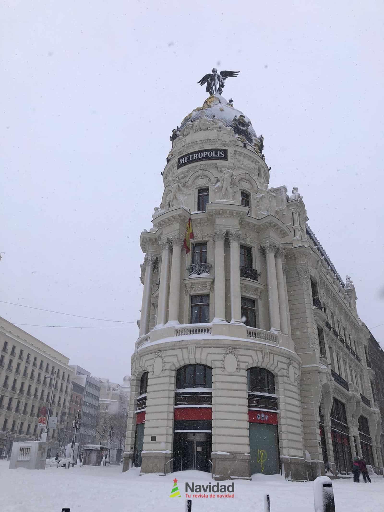 Fotografías de la nevada de enero en Madrid (España) 87