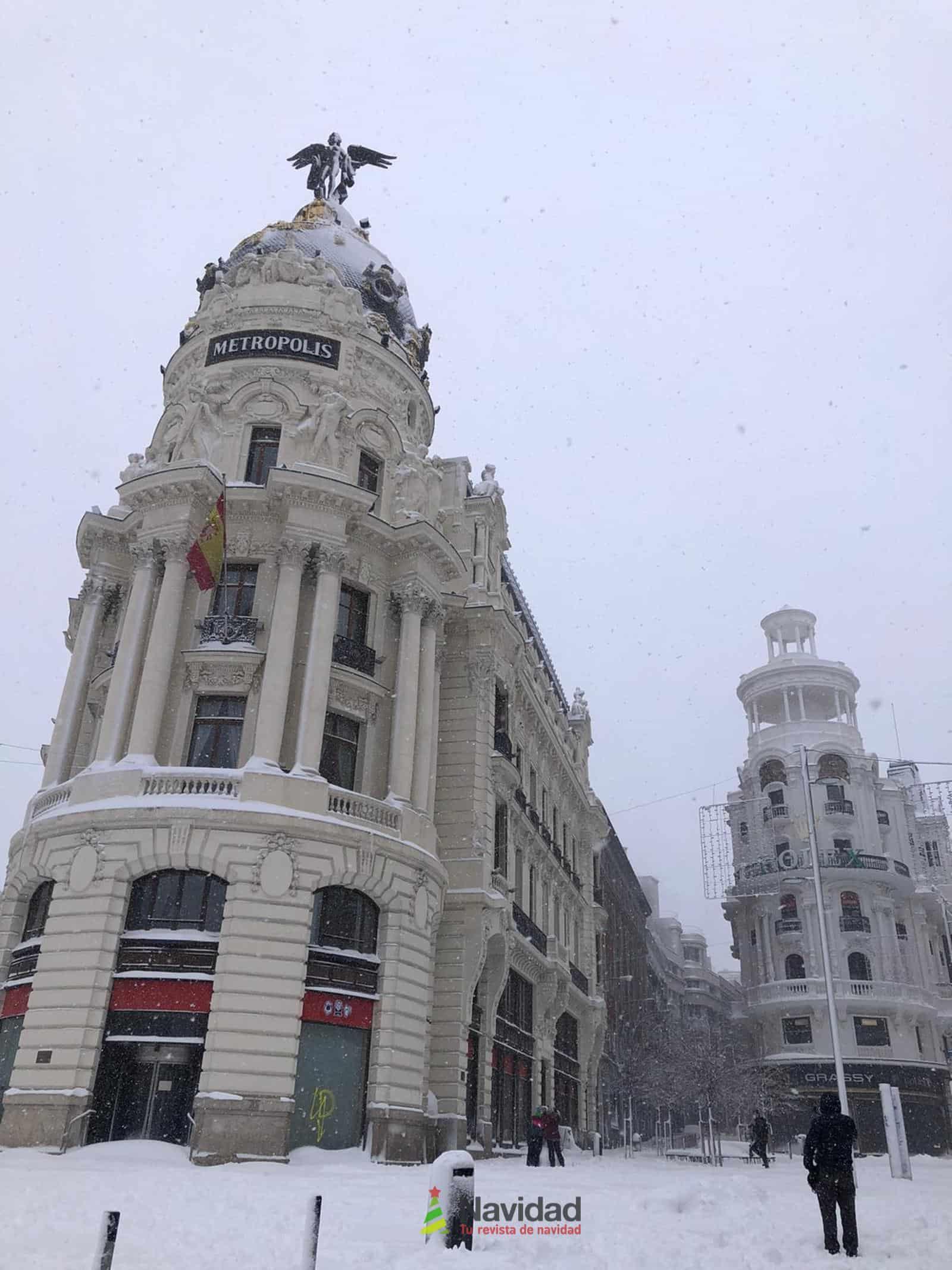 Fotografías de la nevada de enero en Madrid (España) 88