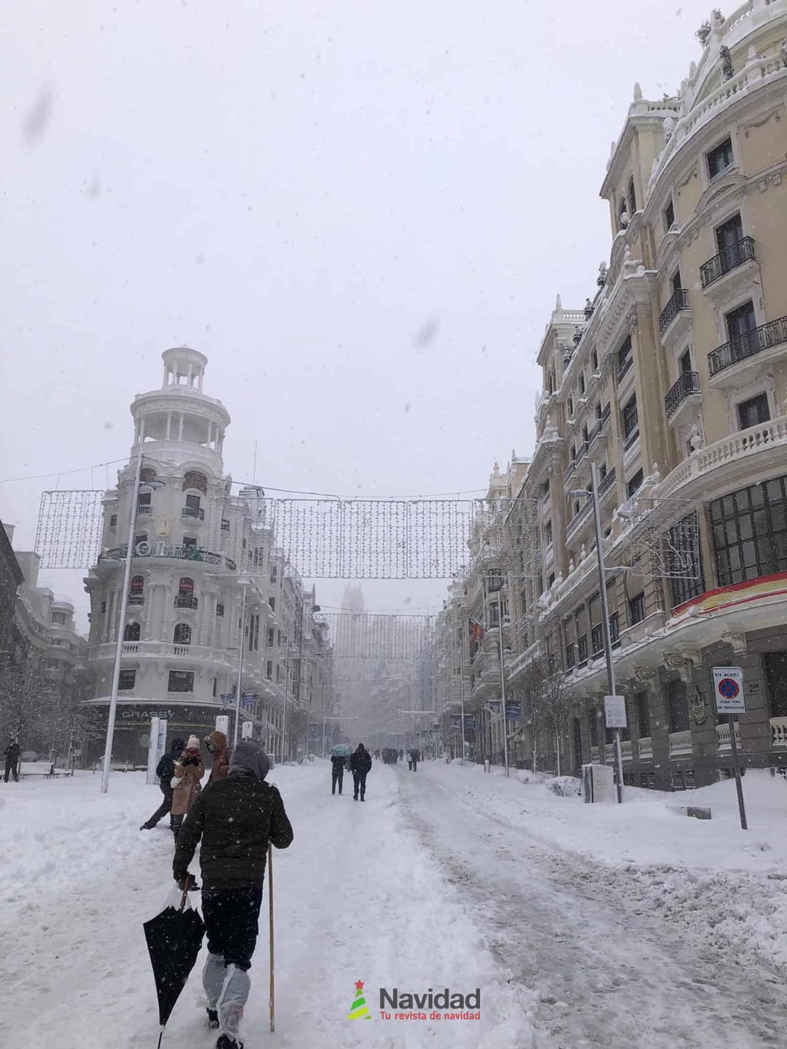 Fotografías de la nevada de enero en Madrid (España) 90