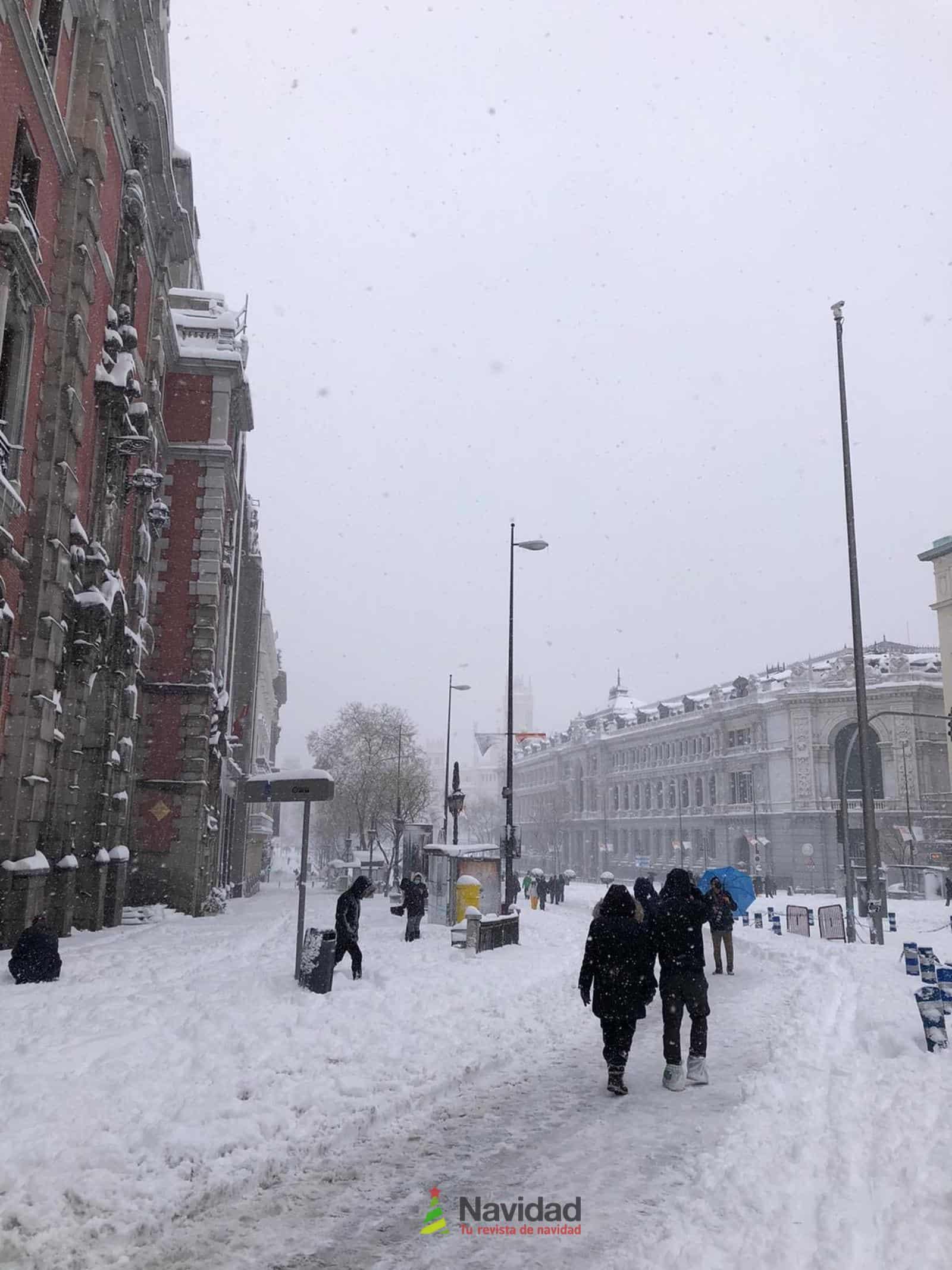 Fotografías de la nevada de enero en Madrid (España) 91